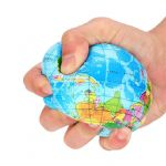 10cm Large Globe Stress Ball